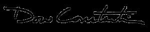 Dow Constantine Signature